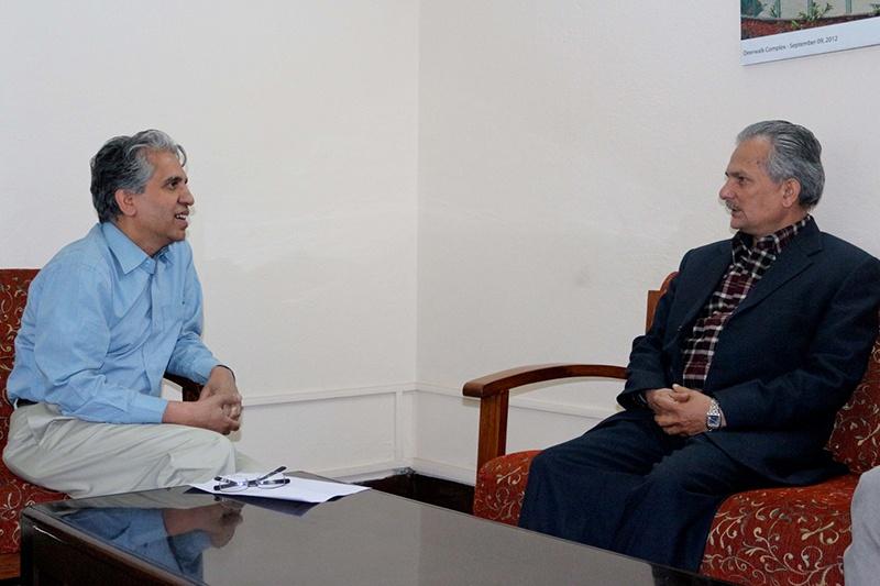 Dr. Baburam Bhattarai's talk program at Deerwalk