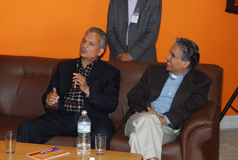 Dr. Baburam Bhattarai's talk program at Deerwalk