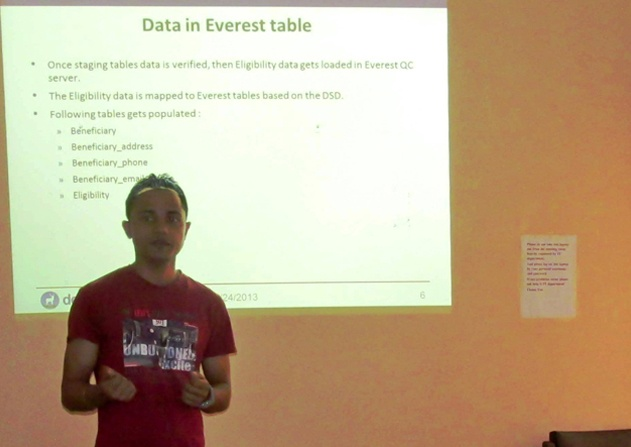 'Data processing in Everest' by Neeraj Sharma