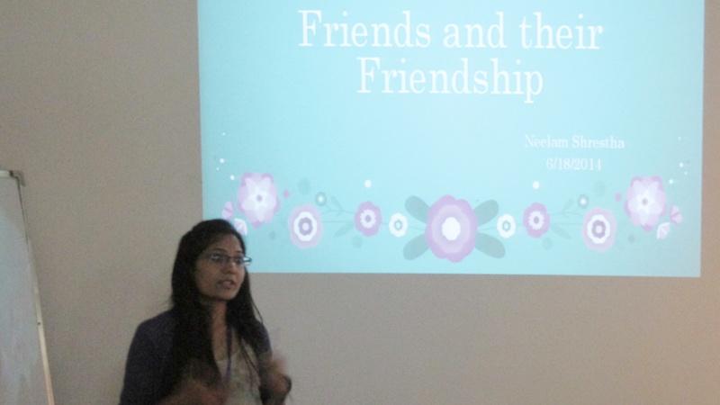 Friends & Thier Friendship by Neelam Shrestha