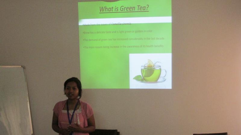 Green Tea by Sabanam Lakhey
