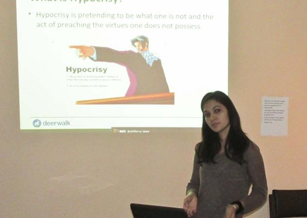 'Hypocrisy' by Sulekha Bhandari