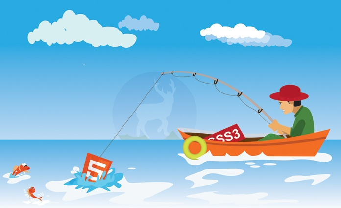 Html5 CSS3 Illustration