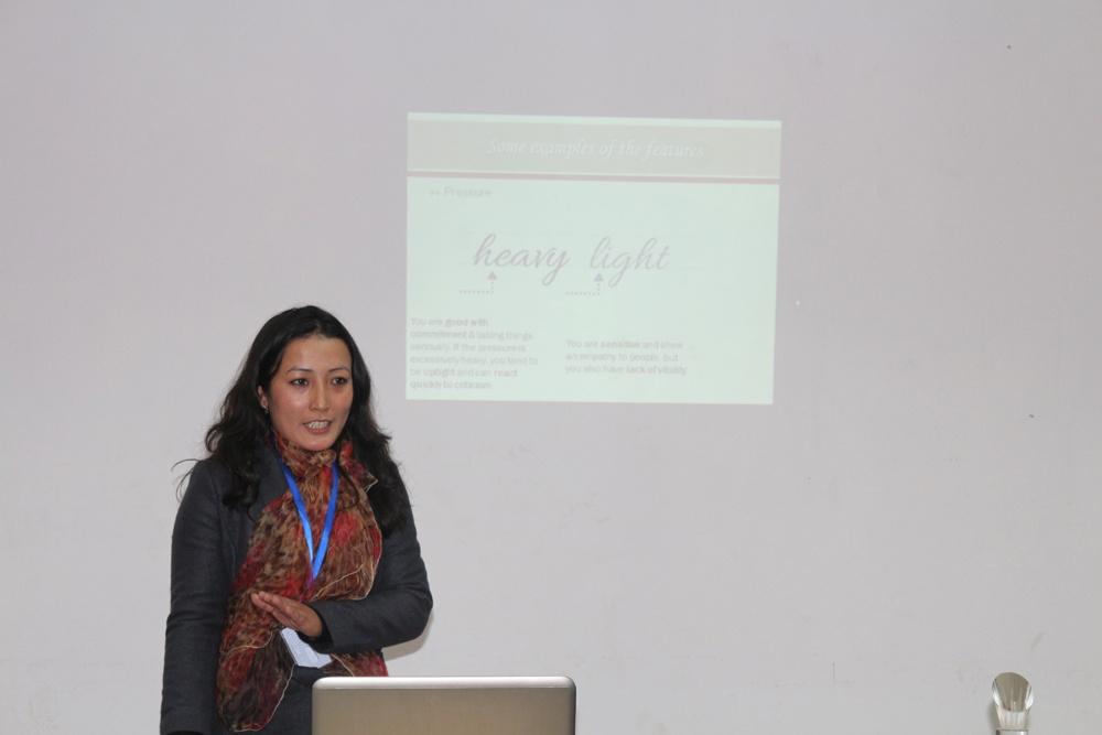 'Handwriting & Personality' by Rosina Shakya