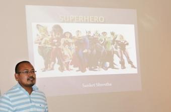 'SuperHero' by Sanket Shrestha
