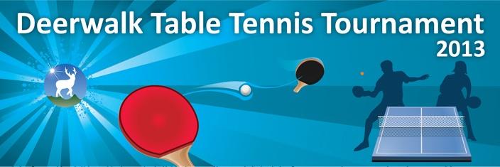 Deerwalk Table Tennis Tournament 2013