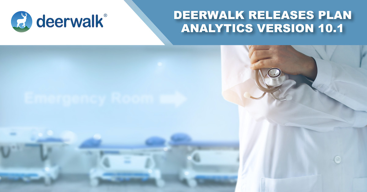 Deerwalk Plan Analytics Version 10.1 Introduces Social Determinants of Health Data & A New Machine Learning Model for ER Visit Prediction