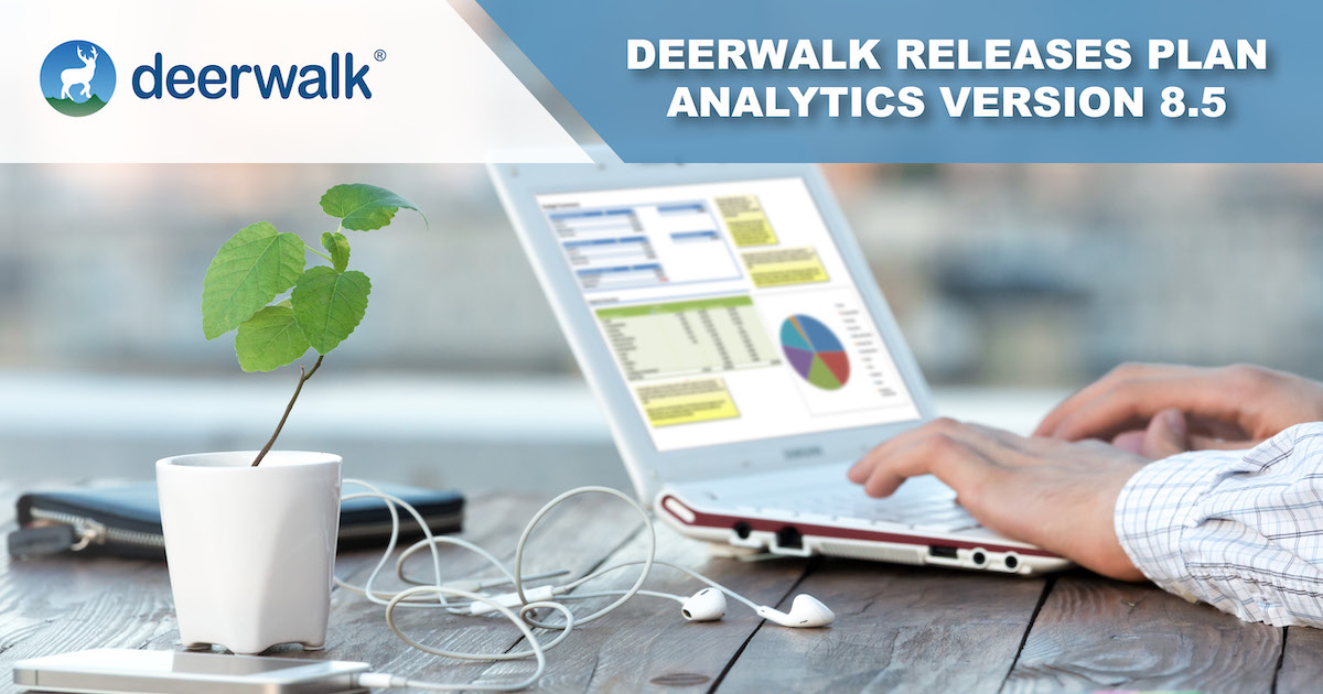 Deerwalk Plan Analytics Version 8.5 Features Custom Chart Creation